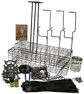 Amazon.com : F&T Muskrat Trapping Starter Kit Bundle ...