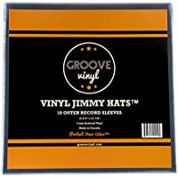 Groove Vinyl Single LP Premium Outer Record Sleeves (10 Pack)