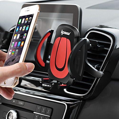 Ipow Universal Auto Lüftungsgitter Handyhalterung Autohalterung Für Lüftungsschlitz Kfz Handyhalter Für Alle Handy Modelle Wie Iphone X 8 7 Plus 6 6 Plus 6s Se 5s Samsung Lg Htc Huawei Etc Elektronik