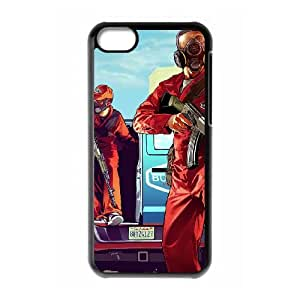 iPhone 5c Cell Phone Case Black Grand Theft Auto V JNR2138404