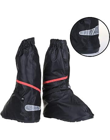 da41dccc8d Anti Slip Waterproof Motorcycle Rain Boots Shoe Covers size Men 10 - 11 for  Bike Riding