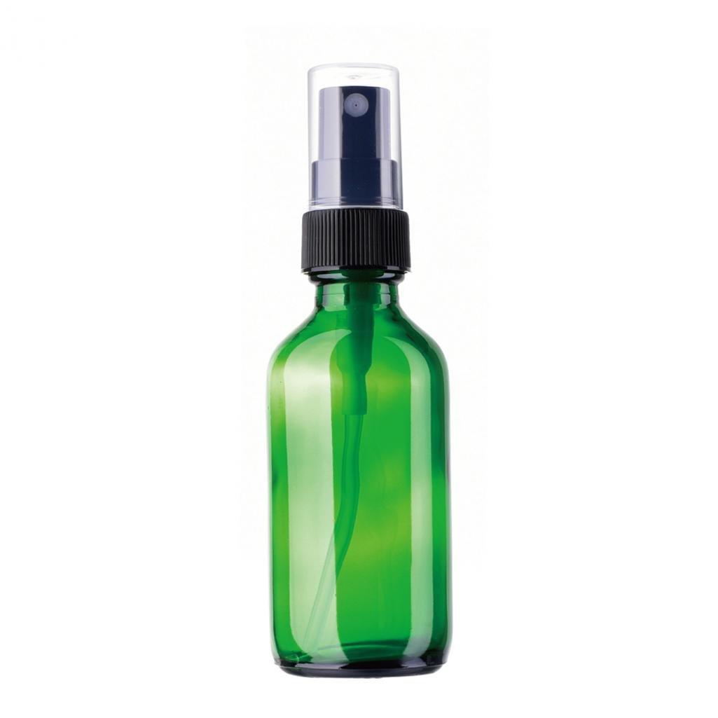 Beauty - Botellas de cristal á mbar para mujer, aceite esencial, aerosol, contenedor, embudo de viaje, geshiglobal