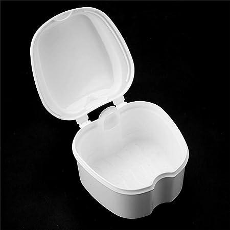 GONGFF Caja de Cajas de baño para dentaduras postizas Organizador ...