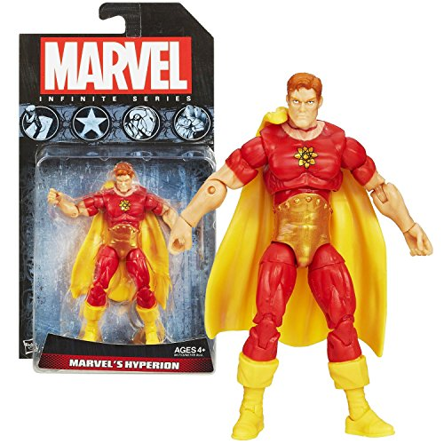 Hasbro Year 2013 Marvel Infinite Series 4-1/2 Inch Tall Action Figure - MARVEL'S HYPERION