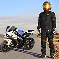 Motorcycle Pants For Men Dualsport Motocross Motorbike Pant Riding Overpants Enduro Adventure Touring Waterproof CE Armored All-Weather Waist38-40 Inseam30