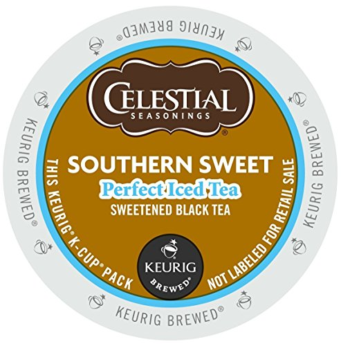 Celestial Seasonings Southern Sweet Tea 44 K-CUPS for Keurig Brewers