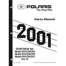 9916443 2001 Polaris Sportsman 400 Parts Manual