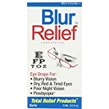 Trp Company Blur Relief Homeopathic Eye Drops, 0.5 Oz by TRP Company (Pack of 2)