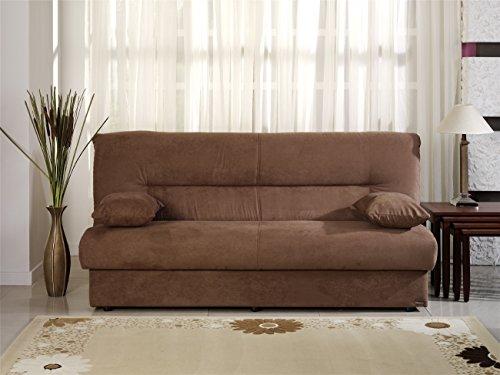 (Istikbal Regata Sofa Bed in Rainbow Obsession Truffle)