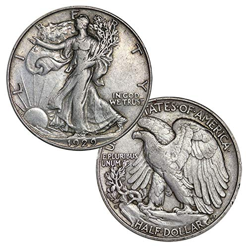 Silver Walking Liberty Half Dollar Half Dollar Circulated