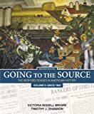 img - for Going to the Source, Volume 2: Since 1865: The Bedford Reader in American History book / textbook / text book