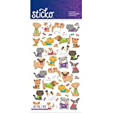 Sticko Classic Tiny Cats & Dogs Stickers
