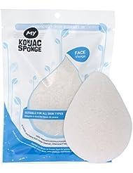MY Konjac Sponge All Natural Original Pure Facial Sponge for All Skin Type