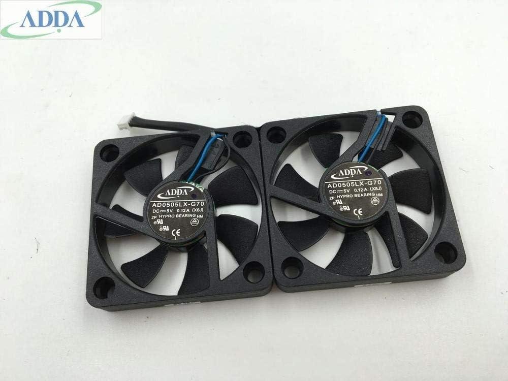 Original FOR ADDA AD0505LX-G70 5V 5010 0.12A 505010mm cooling fan
