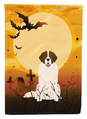 Caroline's Treasures BB4293GF Halloween Moscow Watchdog Garden Size Flag, Small, Multicolor