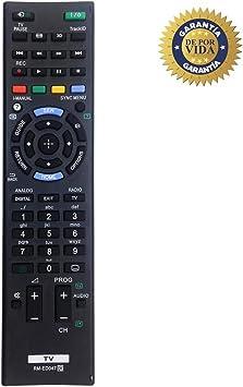 MYHGRC Nuevo Control Remoto de reemplazo de TV RM-ED047 para Sony ...