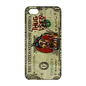 Money Pattern 3D Phone Case for iPhone 5s