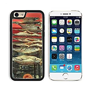 Food Fish Curing Cured Preserve Salt Salted Fish 3DCom iPhone 6 Cover Premium Aluminium Design TPU Case Open Ports Customized Made to Order