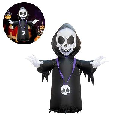 Urisgo PVC Inflable araña Fantasma de Halloween para Fiestas para ...