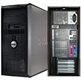 Dell Optiplex 745 Tower, Windows 7 Home 32 Bit, Fast and Powerful 3.4GHz Pentium D Dual Core Processor, 2GB DDR2 High Performance Memory, Large 160GB SATA Hard Drive, DVD/CDRW (Certified Refurbished)