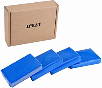 IPELY 4 Pack 100g Car Clay Bar Auto Detailing Magic Clay Bar Cleaner for Car Wash Car Detailing Clean