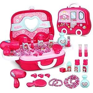 Amazon.com: Accreate Kids Girls Role Play Jewelry Kit Toy