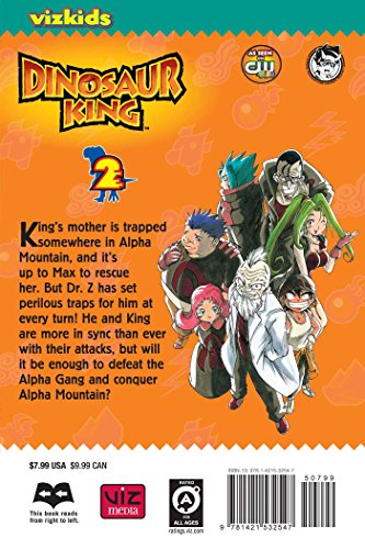 Dinosaur King, Vol. 2 by Perfect Square (Image #1)