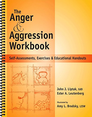 The Anger & Aggression Workbook – Reproducible Self-Assessments, Exercises & Educational Handouts (Mental Health & Life Skills Workbook Series)