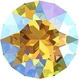 1028 & 1088 Swarovski Chatons & Round Stones Light Topaz Shimmer