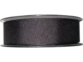 25mm Berisfords Smoked Grey Grosgrain Ribbon 20m Reel