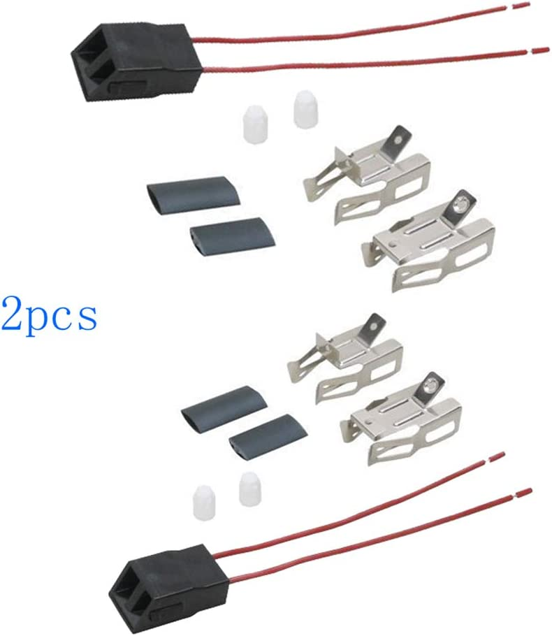 2pcs Range Stove Element Plug Receptacle Block Terminal Block Range Receptacle For Whirlpool Kenmore Electric Stove Range Burner Receptacle Kit ERR117 550226, 71930, 74-06-132, 74-06-190, 766339