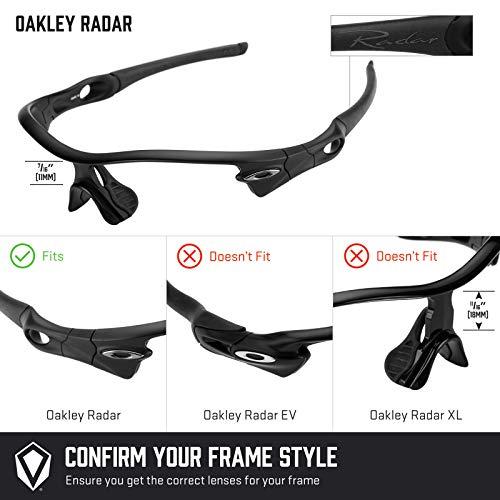 Radar Mirrorshield Repuesto — Múltiples Lentes Chrome Oakley Opciones Negro Para Edge De Polarizados 6FIqFnwxTU
