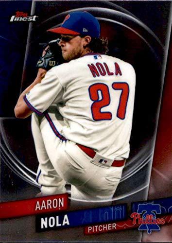 2019 Finest #6 Aaron Nola Philadelphia Phillies MLB Baseball Trading Card ()