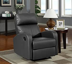 Sillon Relax Reclinable Color Negro Due Home