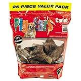 Cadet 25-Pack Pig Ears Dog Chews, My Pet Supplies