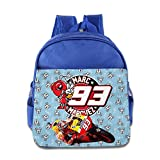 QUEEN Spanish Motorcycle No.93 Championship Backpack / Kids' School Backpack
