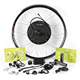 """EBIKELING 48V 1500W Direct Drive Motor Rear Wheel 26"""" 700c Waterproof eBike Conversion Kit Built-In Controller Electric Bicycle"""