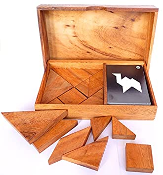 LOGICA GIOCHI, Art. Doble Tangram - 65 Puzzles EN 1 - Juego ...