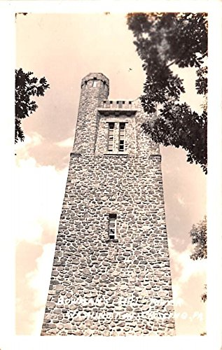 Bowman's Hill Tower Washington, Pennsylvania postcard