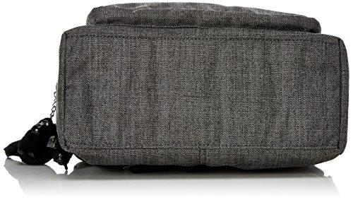 Kipling Reth - Bolso de hombro Mujer Gris (Cotton Grey)