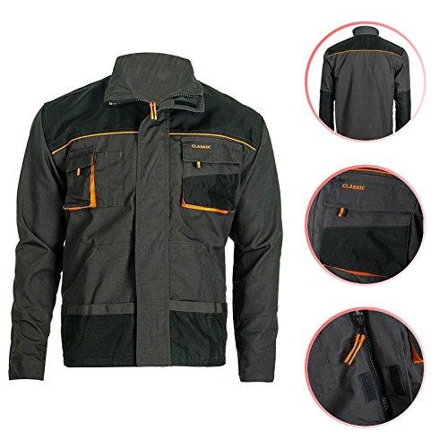Arbeitsjacke Classic Gr. 46 - 64 Berufsbekleidung Jacke Handwerker Berufskleidung Werkzeug