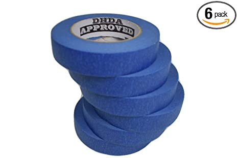 6 Pack Professional Grade 1 Blue Painters Tape 6pk 1 X 60 Yards 360 Yards Total 6 Roll Multi Pack Not 94 True 1 Inch
