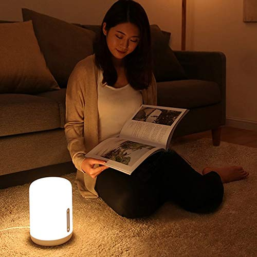 MIJIA MJCTD02YL Simple Shape LED Bedside Lamp For Apple Homekit Siri ()