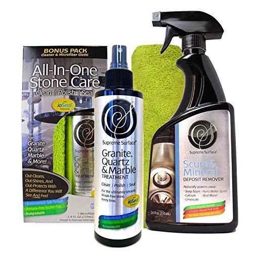 - Supreme Surface Granite Composite Sink Cleaner, Polish, Sealer, Care Kit