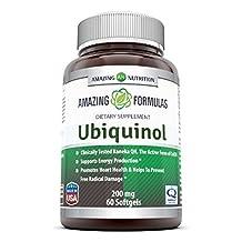 Amazing Formulas Ubiquinol 200mg 60 Softgels