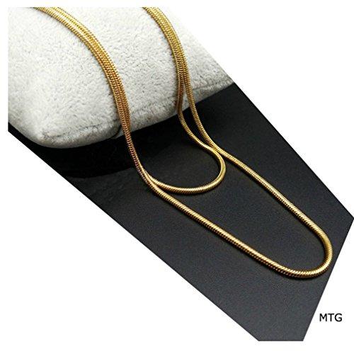 Gold 1 Mm Snake - 9
