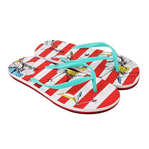 Zapatillas Playa Flores Funko Pop Tamaño 40