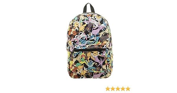 12c6ddfa0a Nintendo Pokemon Go Eevee Evolution Licensed Backpack School Book Bag Toss  Print  Amazon.ca  Luggage   Bags