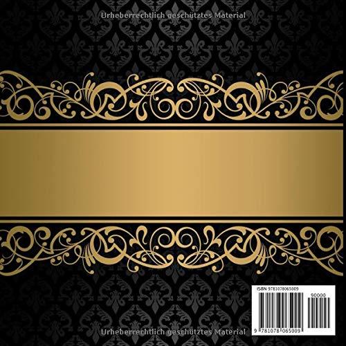 Goldene Hochzeit Gästebuch Motiv 1 Zum Ausfüllen Für