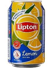 Lipton Ice Lemon Tea Cans, 300ml (Pack of 24)
